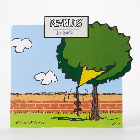 Peanuts Backer Card Display