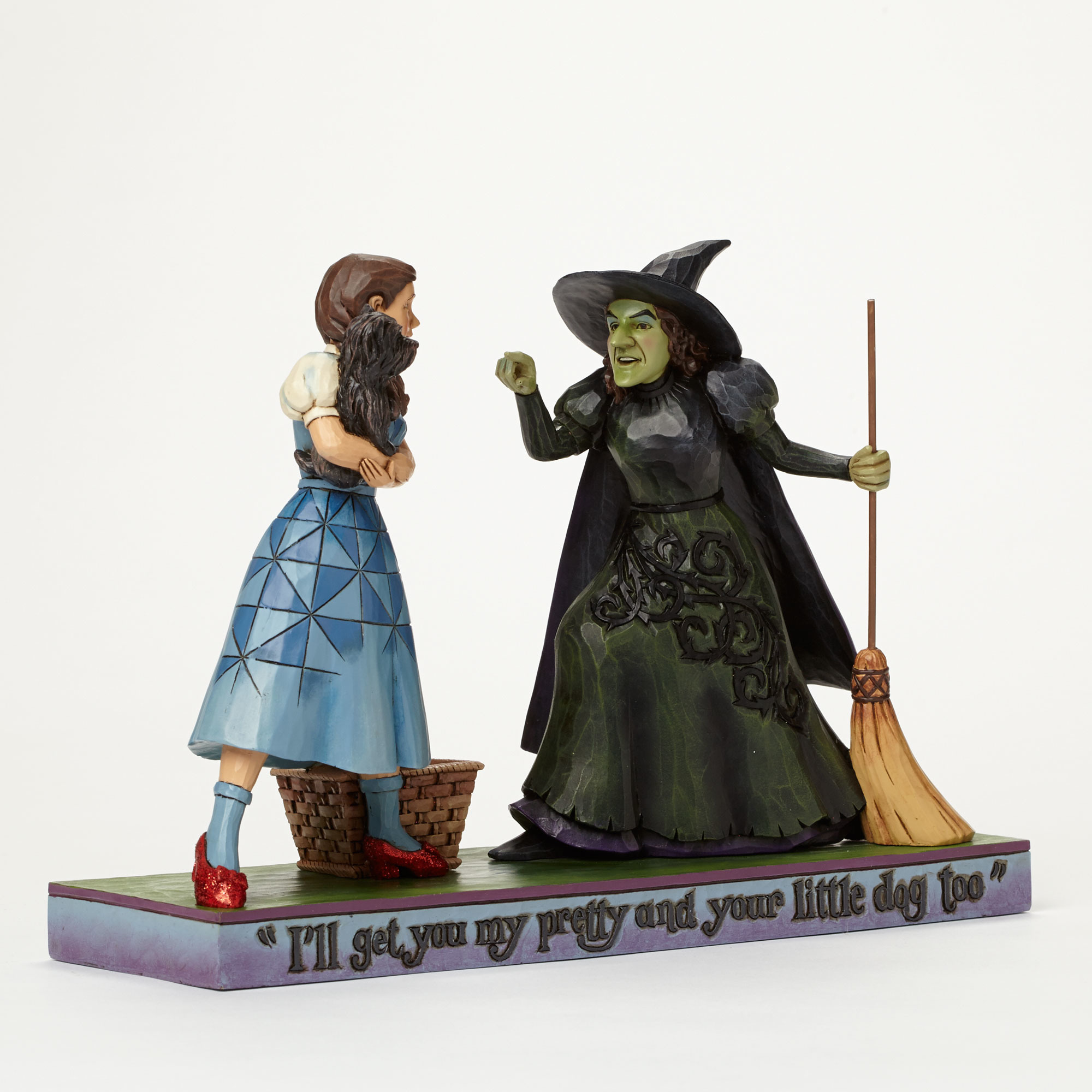 Wizard Of Oz Dorothy With Wicked Witch – landmcollectibles.com