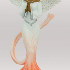 Sash Angel in Orange