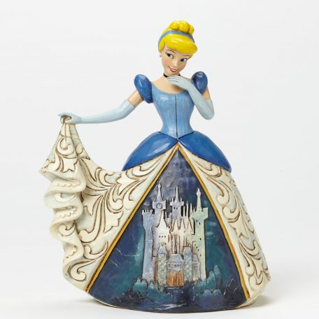 Cinderella with Castle Dress