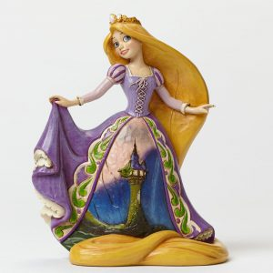 Rapunzel with Tower Dress