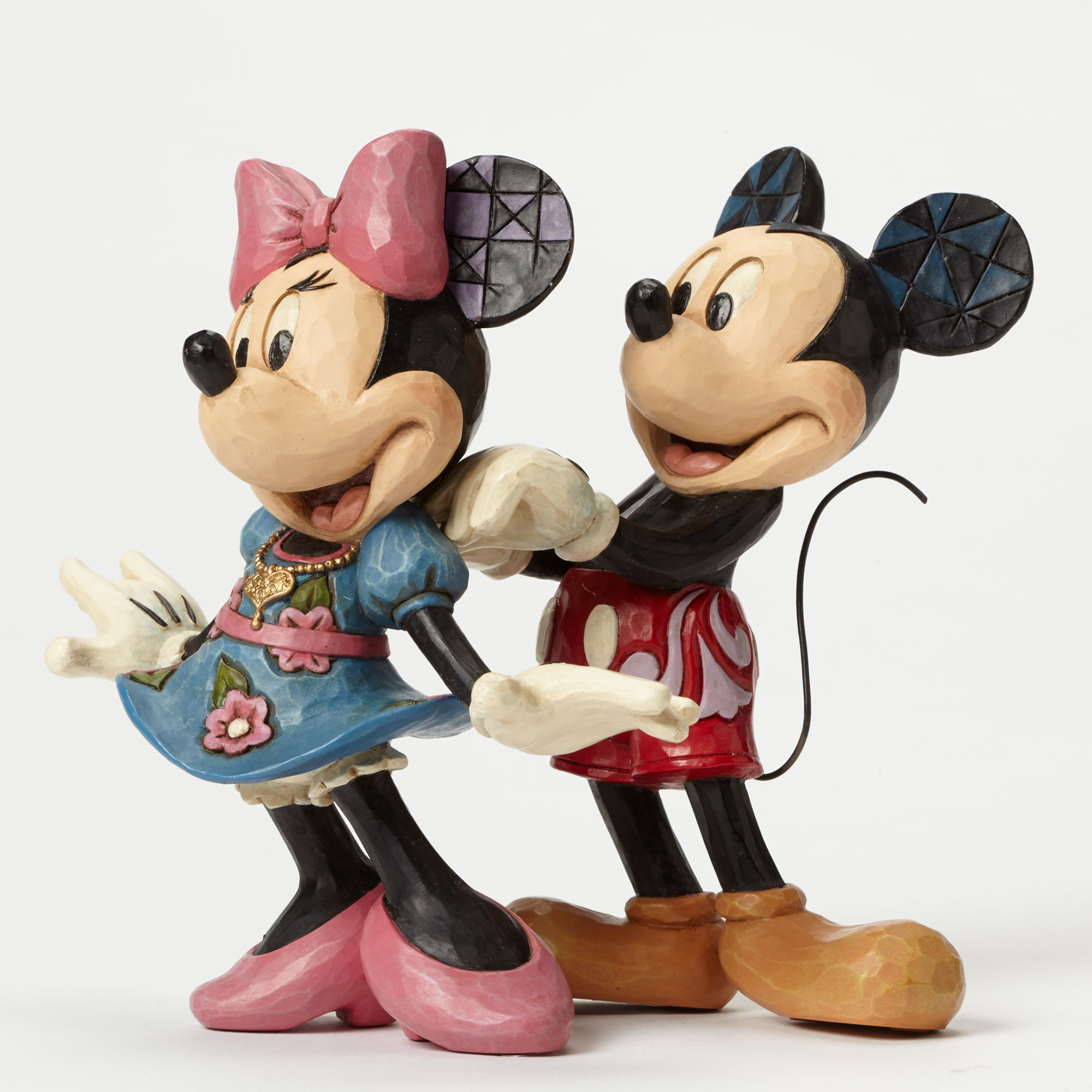 Mickey & Minnie with Necklace
