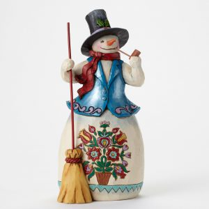Snowman with Pipe