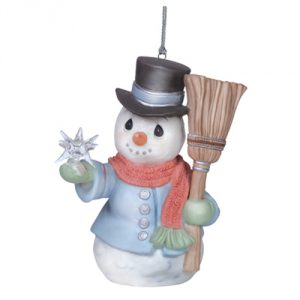 Precious Moments 6th Annual Snowman Ornament