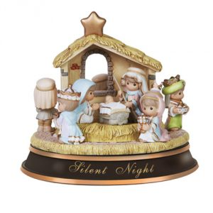 Precious Moments Rotating Musical Nativity