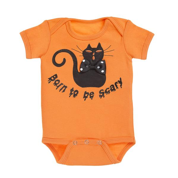 Born To Be Scary Diaper Shirt 20846