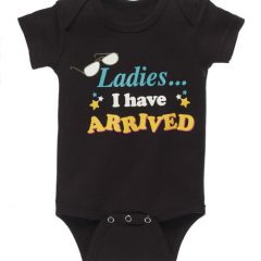 Boy's Diaper Shirt - Ladies I have arrived 30951
