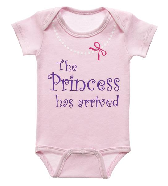 Diaper Shirt – The Princess has arrived