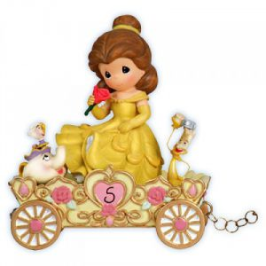 Precious Moments Disney Birthday Parade Belle Age 5