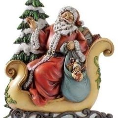 Roman Collection Santa Figurine