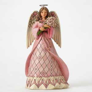 Jim Shore Breast Cancer Awareness Angel Enesco 4049412