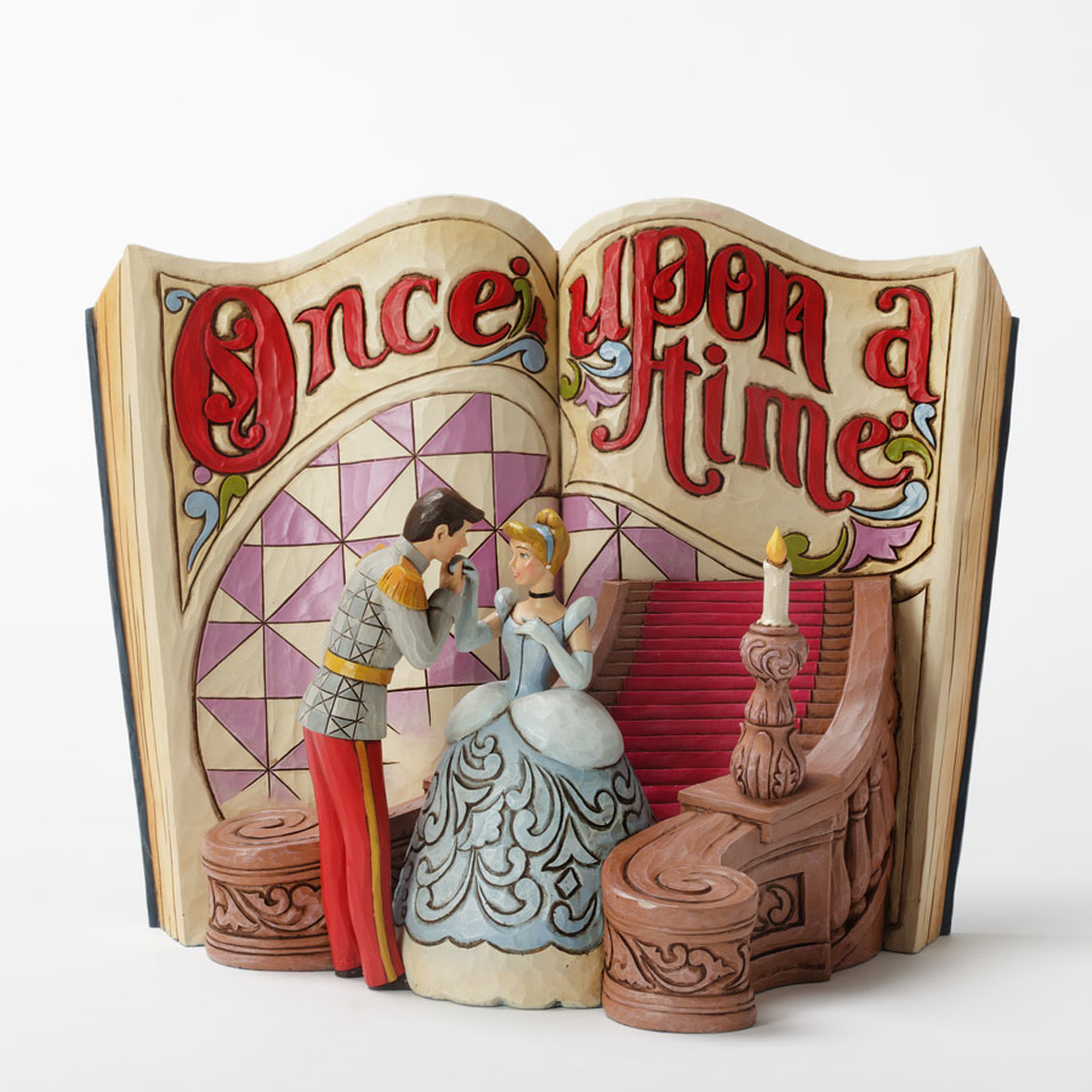 Jim Shore Disney Traditions Cinderella Story Book - Enesco 4031482