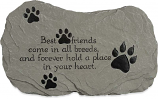 Best Friends Pet Remembrance Stone