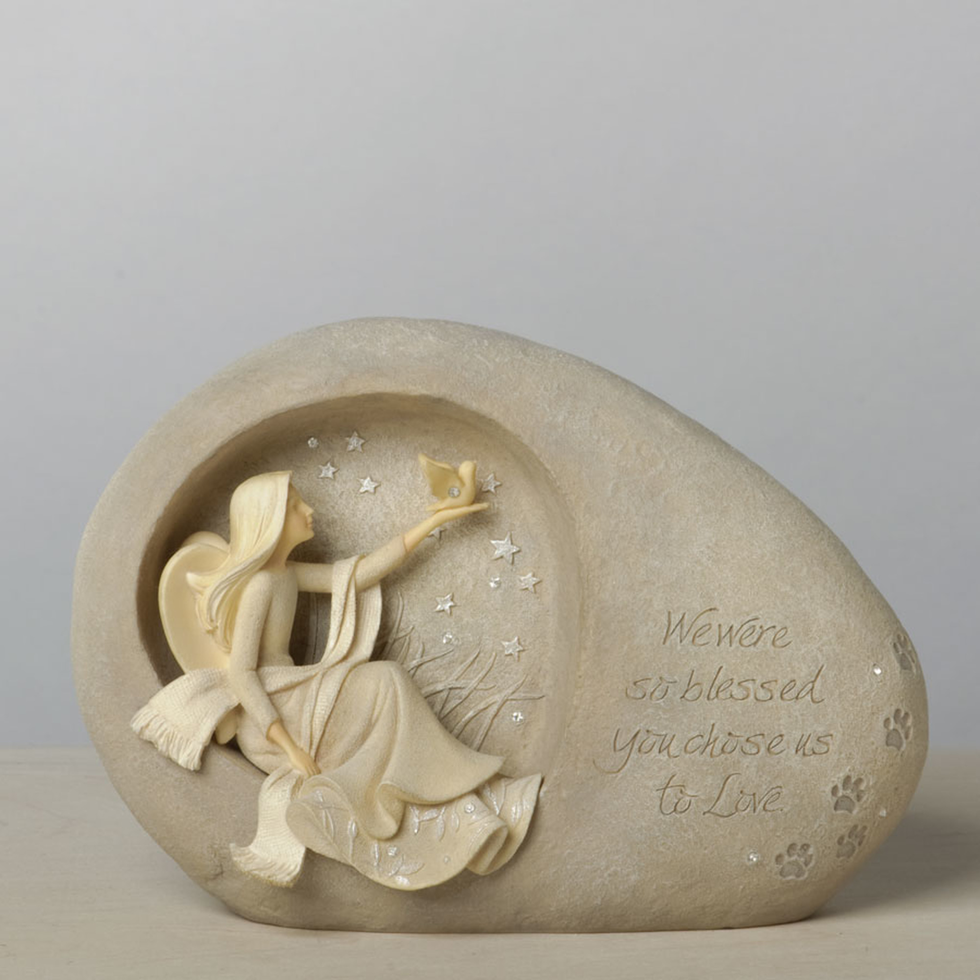Foundations Pet Bereavement Memorial by Karen Hahn Enesco 4036731