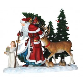 Pipka Limited Edition Guiding Light Santa