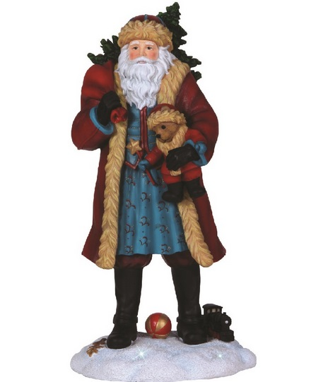 Pipka Limited Edition Santa with Teddy Bear