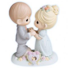 Precious Moments Porcelain 10th Anniversary Figurine 730007