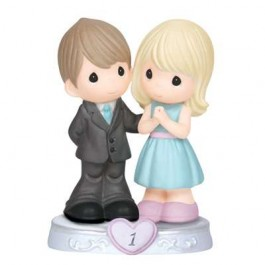 Precious Moments Porcelain First Anniversary Figurine 143017
