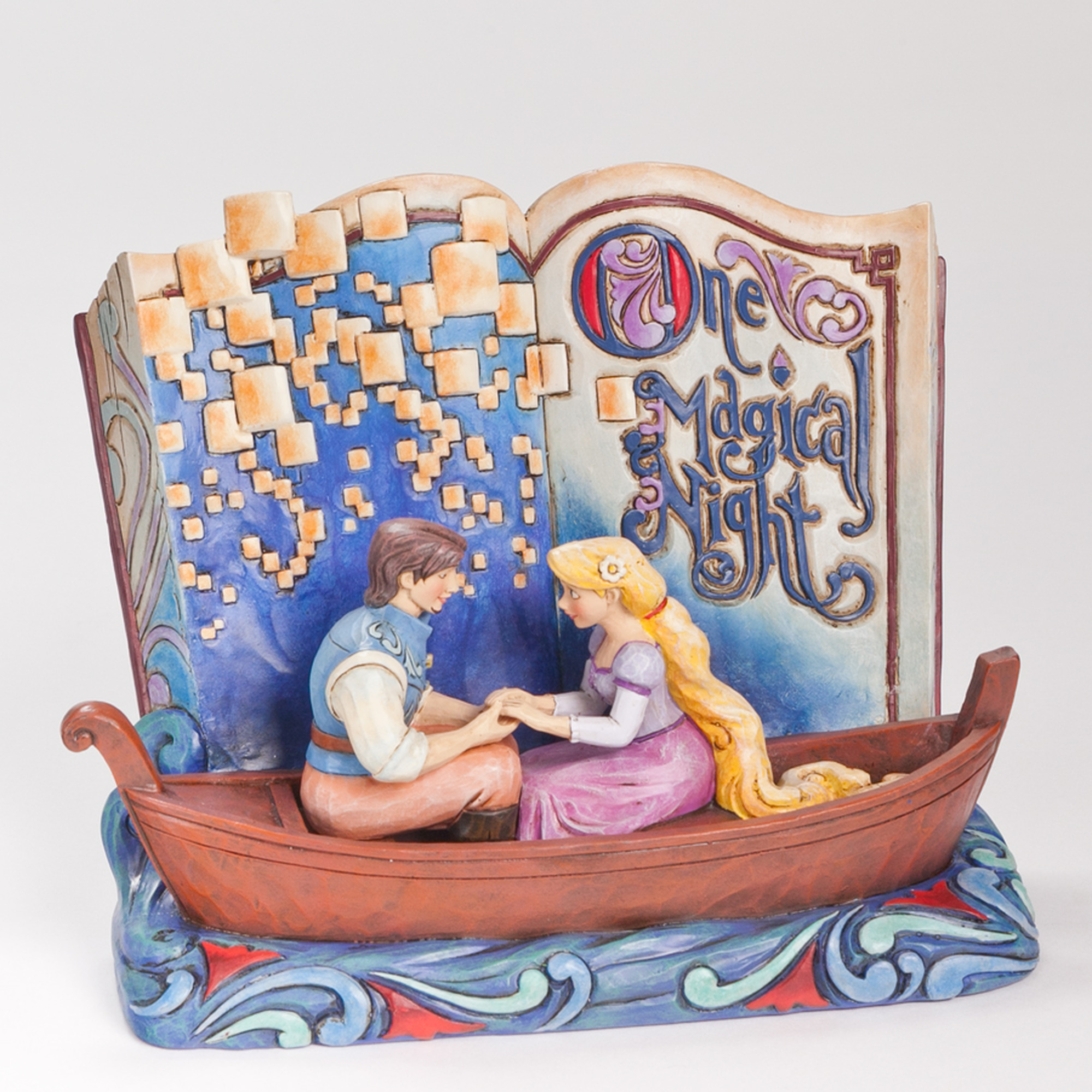 Jim Shore Disney Traditions Rapunzel Story Book - Enesco 4043625