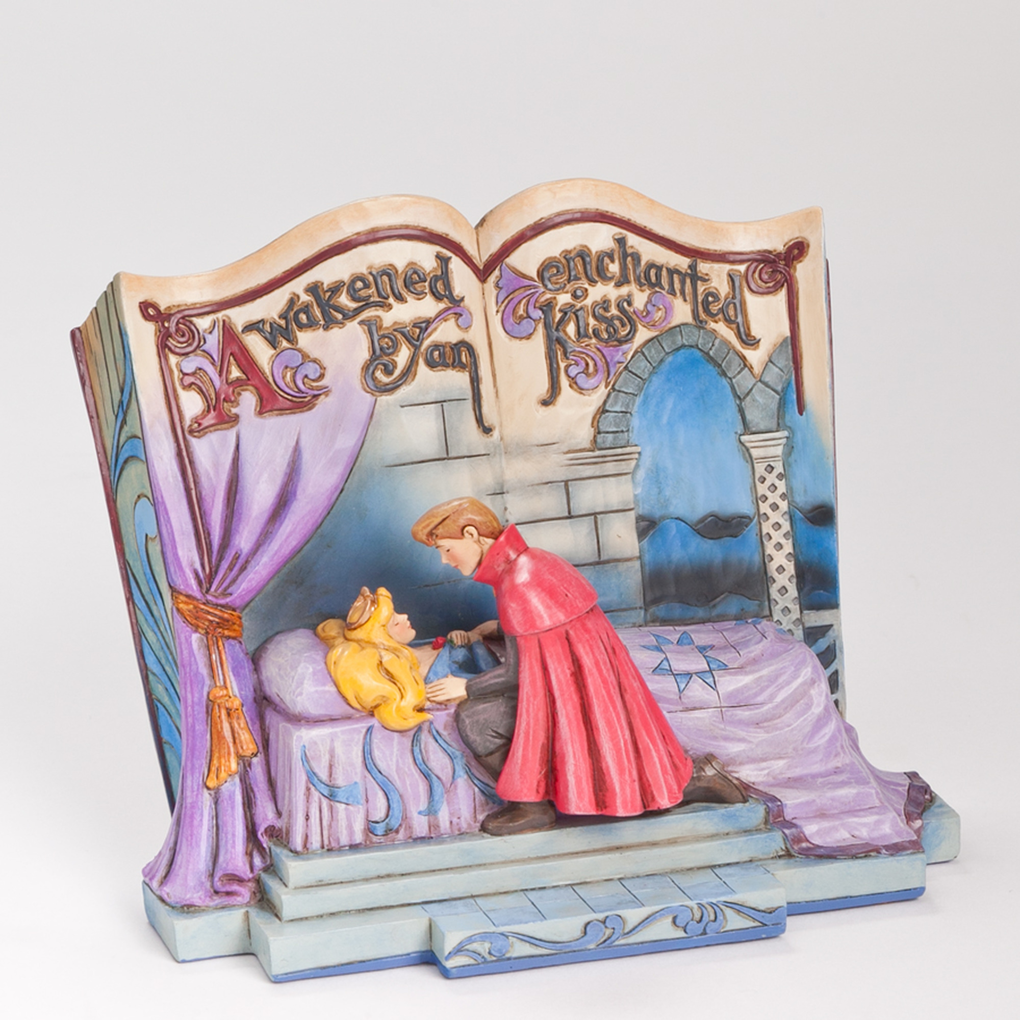 Jim Shore Disney Traditions Sleeping Beauty Story Book - Enesco 4043627