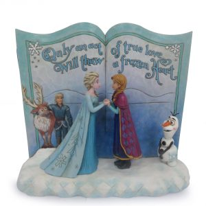 Jim Shore Disney Traditions Frozen Storybook 4049644