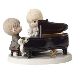 Precious Moments Limited Edition Couple at Piano #1152021