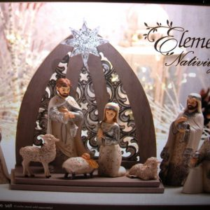 Elements 9 Piece Nativity Set 82396